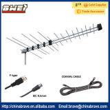 De Antenne UHF van Yagi van de Fabrikant van China & Fabrikant van de Antenne van VHF 32e de Logaritmische