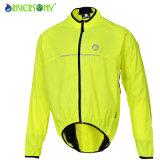 Bicycle Wind Jacket, ultra léger veste de cyclisme, réfléchissant de la tuyauterie
