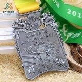 Бронзовую награду Custom марафон медаль работает спортивные медали