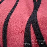 Court-tas Tissu ultra douce en velours avec traitement Flocage