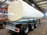 50m3 Steel Liquid Fuel Transport Tank Tractor Trailer für Sale