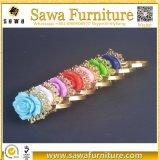Anéis de guardanapo chapeados de Np#153 Alibaba ouro maioria barato