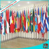 Drapeau fait sur commande d'indicateur de pays/drapeau indicateur national/indicateur de compagnie