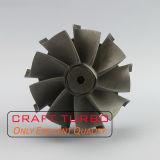 Asta cilindrica della rotella di turbina di Gt20 717903-24 per 752610-10