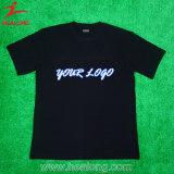 Magliette personalizzate cotone del commercio all'ingrosso di Healong 100%