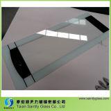 vidrio Tempered de la impresión de la pantalla de seda de la seguridad de 5m m para la puerta del horno