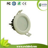 9W Waterproof Downlight LED con 3years Warranty
