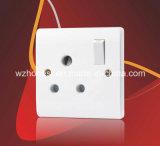 enchufe de socket redondo del Pin de la cuadrilla 5A 1