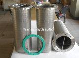 Filtro de petróleo soldado do aço inoxidável de 25 mícrons