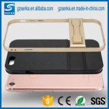 Geval van Kickstand van de Telefoon van de Vezel van de koolstof het Mobiele voor Samsung S8/S8 plus