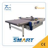 Mesa de corte CNC Digital Oscillating Knife para sala de corte de vestuário