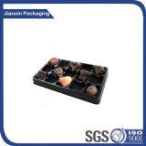 Plateau en plastique de chocolat de Customiezed de qualité