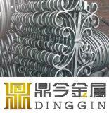 Ornamentación Decoración Accesorios de la puerta de hierro forjado.