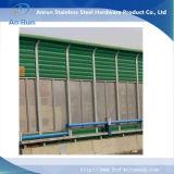 Akoestische die Barrière van het Bewijs van de Weg/van de Spoorweg van het aluminium de Correcte in Fabriek wordt gemaakt