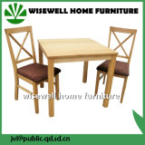 Conjuntos de sala de jantar Mobiliário de sala de jantar de madeira clássico (W-DF-9035)