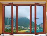 Da cor de madeira quente nova da venda do projeto da alta qualidade indicador de alumínio do Casement para comercial e residencial com preço à saída da fábrica (ACW-017)