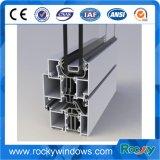 Rocky polaca de plata de extrusión de aluminio perfil de ventanas y la puerta