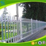 Cerca al aire libre del jardín de la infancia compuesto de la cerca del PVC