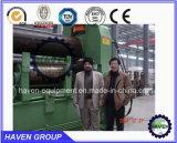 W11S op zwaar werk berekende hydraulische 3 rolCNC plaat rollende machine
