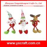 Décoration promotionnelle de Bell de Noël de jouet de Noël de la décoration de Noël (ZY14Y220-1-2-3)