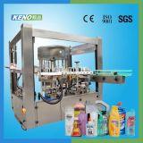 Máquina de etiquetado orgánica de la escritura de la etiqueta privada del petróleo de coco del buen precio