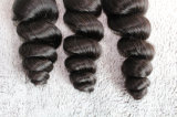 I capelli 100% del Virgin nessun groviglio delicatamente slacciano i capelli umani brasiliani dell'onda