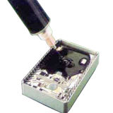 Eco-Friendly Two Parts Colante Eletrônico de Resina Epoxy