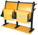 Tableau anti-incendie avec tablette avec chaise attachée