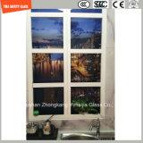 Impression de Silkscreen de peinture de la qualité 3-19mm Digitals/gravure à l'eau forte acide/sûreté givré/configuration gâchée/verre trempé pour la décoration d'hôtel avec SGCC/Ce&CCC&ISO