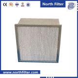 Industriële HVAC plooide Filter HEPA diep Op hoge temperatuur met Separator