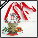 Medaglia in lega di zinco di qualità grande per il regalo di promozione (BYH-10174)