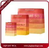 Saco de papel personalizado sacos de papel comercial de sacos de papel de sacos de embalagem