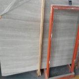 رخيصة بيضاء خشبيّة عرق رخام لأنّ أرضية تصميم