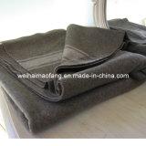 Сплетенное Woollen 50%Wool/50%Polyester Blended Army /Military Blanket