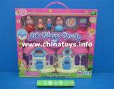 Villa brinquedos de plástico Doll House Definir brinquedos para as meninas (7174124)