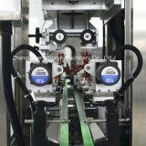 Машина для прикрепления этикеток втулки Shrink автоматической двойной бутылки головок горячая