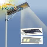Novos Produtos 30W Luz Rua Solar integrado com controle remoto