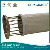Sacchetto filtro materiale del poliestere del filtrante della polvere