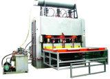木製の働くメラミンMDFの熱い出版物の機械装置の倍サイドMDFの短いサイクルの出版物ライン