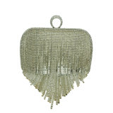 Mais recente Sequined Beaded Pearl Ladies Evening Bag para festa