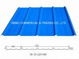 Feuille en acier galvanisée de toiture pour la feuille de toiture de couleur en métal de matériau de construction