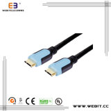 HDMI Transparent Cable HDMI - HDMI 1.4V con Ethernet