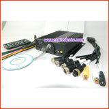 Câmera de vigilância de vídeo móvel barata 720p 420p e DVR para cartão SD para veículos de ônibus Taxi