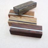 新しい折る接眼レンズの箱の模造木製の穀物のEyewearガラスボックス