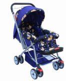 En1888 de Nieuwe Wandelwagen van de Baby van het Ontwerp Vouwbare en Shock-Proof met Katoenen Kussen