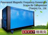 Compressor de ar giratório do parafuso do rotor dobro refrigerar de água (630KW)