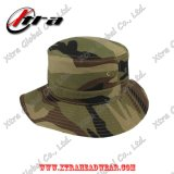 Marpatの森林カムフラージュの軍隊のCamoのバケツの帽子の魚の人の帽子