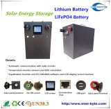 paquete de la batería de 48V 100ah LiFePO4 - batería del almacenaje de energía solar