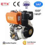 Ce&ISO9001 keurde de Kleine Lucht Gekoelde Enige Dieselmotor van de Cilinder goed