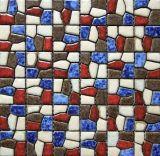 Regenbogen-Porzellan-Mosaik 2017